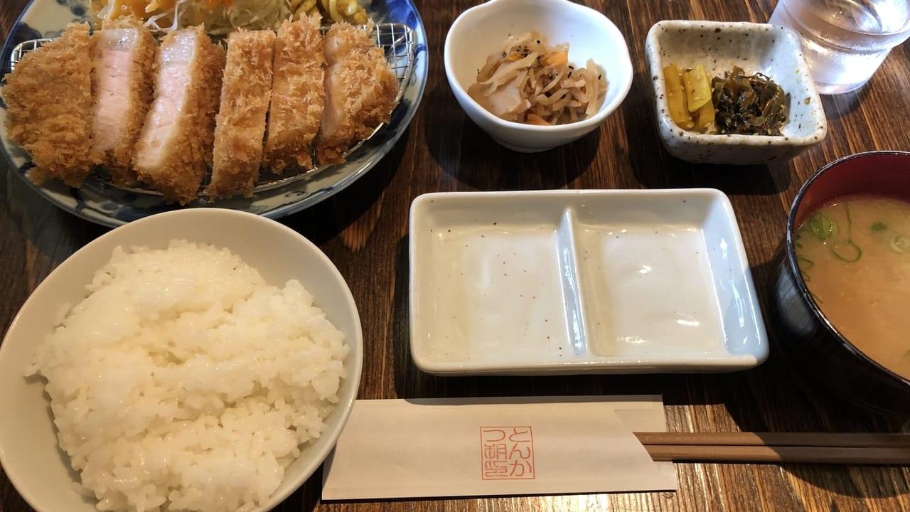 2019年姫路とんかつ朔 外観